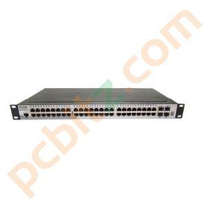 D-Link DGS-1510-52 52 Port PoE Gigabit Stackable Smart Managed Switch (B)
