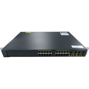 Cisco WS-C2960G-24TC-L V07 24 Port Gigabit Switch
