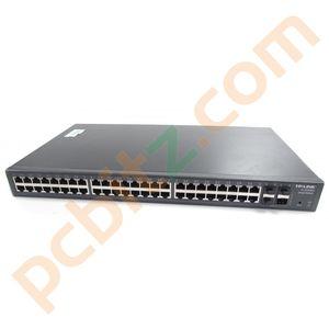 TP-Link TL-SG2452 48-Port Gigabit Smart Switch with 4SFP