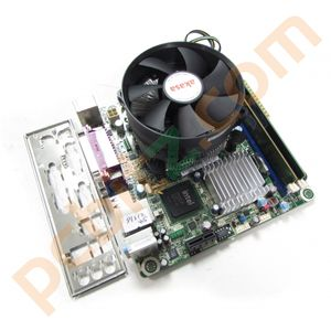 Pegatron IPX41-R3 REV 1.01, Dual Core E5400, 2.7 GHz, 2GB DDR3 Bundle