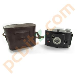 Vintage Ansco Camera with Case (Untested)