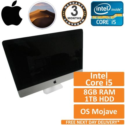 "Apple iMac 21.5"" A1418 Late 2013 Core i5 2.7GHz 8GB RAM 1TB HDD"