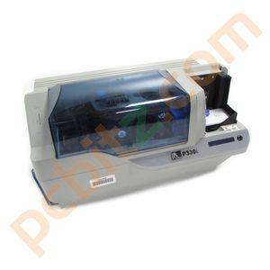 Zebra P330i Plastic ID USB Card Printer (Read Description - Missing Plastics)