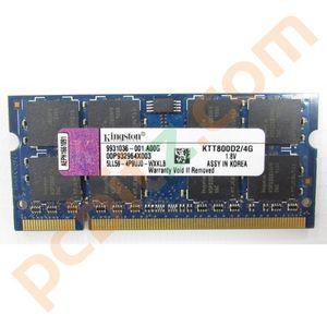 Kingston KTT800D2/4G 1 x 4GB 200 PIN DDR2 SODIMM 800MHz DDR2 Laptop Memory