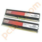 4GB (2x2GB) AMD AP34G1608U1K 1600MHz DDR3 Desktop Memory Kit