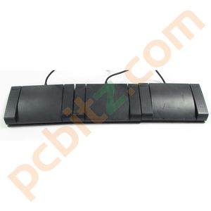 3 x Sanyo FS-55 Dictation Machine Foot Control Pedal 6-Dim (Untested)