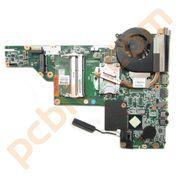 HP 630 Motherboard, Pentium P6200 @ 2.13GHz + Heatsink 646669-001 (No USB PCB)