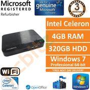 Novatech PC-BX14351, Celeron 1.4GHz, 4GB, 320GB, Windows 7 Pro Desktop PC