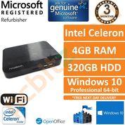 Novatech PC-CX00714, Celeron 1.4GHz, 4GB, 320GB, Windows 10 Pro Desktop PC