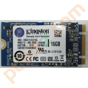 Kingston RBU-SNS4151S3/16G SSD 16GB M.2 Solid State Drive