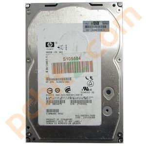 "HP Hitachi HGS-HUS156030VLS600 300GB 15K SAS 3.5"" Hard Drive"