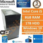 Dell Optiplex 3020 Intel i5-4590 @ 3.3GHz 8GB 1TB Windows 10 Desktop PC