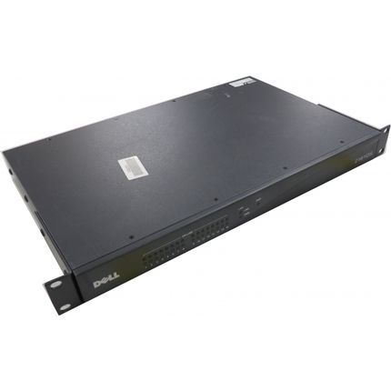 Dell PowerEdge 2161DS KVM Over IP Switch Console (POST)
