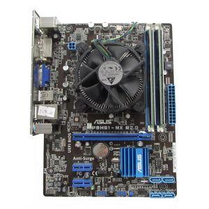 Asus P8H61-MX R2.0 LGA1155 Motherboard + Celeron G1610 2 ...