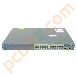Cisco Catalyst 2960 WS-C2960S-24TS-S 24 Port Gigabit Managed Switch No Ears