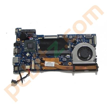 Samsung 530 Series 5 Ultrabook Motherboard with i5-3317u CPU heatsink and fan