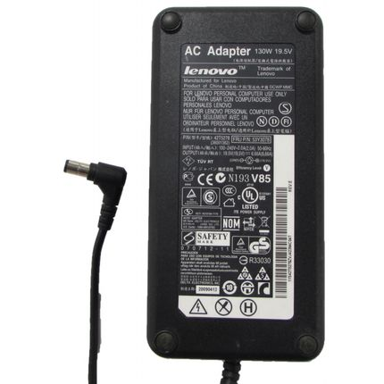 Lenovo ThinkCentre 19.5v 6.66A Adapter Charger 130W 42T5278 FRU 53Y3078