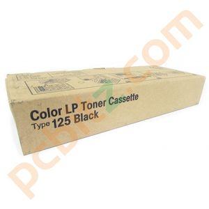 Ricoh Color LP Toner Cassette Type 125 Black 400838