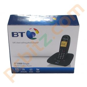 BT 1000 Single Digital Cordless Phone
