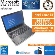 "Dell Latitude 3540, Core i3-4010u 1.7GHz 8GB 500GB Windows 10 15.6"" Laptop"