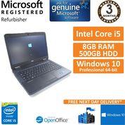 """Dell Latitude E5440 i5-4300u @ 1.9GHz 8GB 500GB 14"""" Win 10 Laptop"""