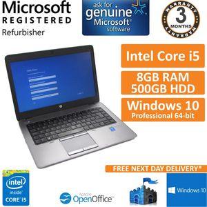 "HP EliteBook 740 G1 Core i5-4210u 1.7GHz 8GB 500GB Windows 10 Pro 14"" Laptop"