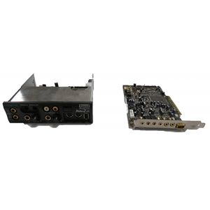 Creative Labs Sound Blaster Audigy2 ZS SB0350 PCI Sound Card with Front Panel