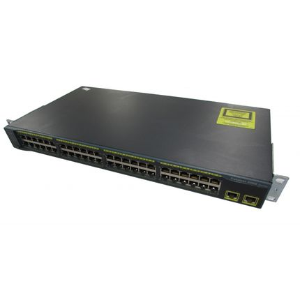Cisco 2960 WS-C2960-48TT-L V05 48 Port Switch