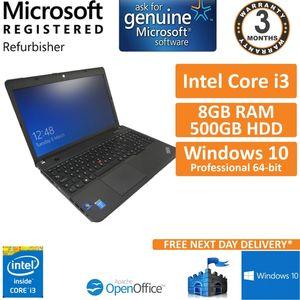 Lenovo ThinkPad E540 Intel Core i3-4000M 2.4GHz 8GB 500GB Windows 10 Laptop