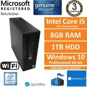 HP ProDesk 400 G3 SFF Intel Core i5-6500 3.2GHz 8GB DDR4 1TB Win 10 Pro Desktop