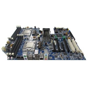 HP Z600 Motherboard 591184-001 CPU included for protection