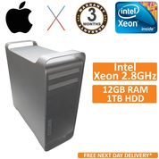 Apple Mac Pro 5.1 2010 A1289 Xeon Quad Core 2.8GHz 12GB 1TB OS HighSierra10.13.6