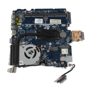 HP ProBook 450 G2 Motherboard 799551-601, Core i3-5010U 2.1GHz Heatsink and Fan