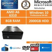 HP 450-A60NA AMD A6-6310 1.8 GHz 8GB 2TB Win 10