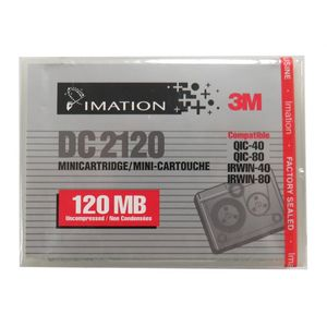 7 x New Imation 3M DC2120 120MB QIC40 QIC80 IRWIN40 IRWIN80 Data Cartridges