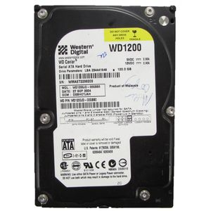 "Western Digital WD1200JD 120GB SATA 3.5"" Desktop Hard Drive"