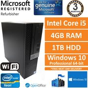 Dell Optiplex 5050 SFF Intel Core i5-7500 3.4GHz, 4GB, 1TB, Windows 10 Pro