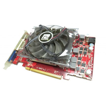POWERCOLOR RADEON HD5770 AX5770 R84FH 1GB HDMI VGA DVI PCIE