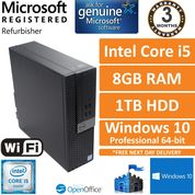 Dell Optiplex 5040 i5-6500 @ 3.20GHz, 8GB Ram 1TB R5 340X Windows 10 Pro SFF PC