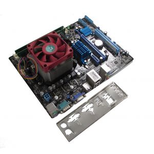 Asus M5A78L-M LX3 AM3+ Motherboard, AMD FX4130 3.80GHZ, 8GB RAM With I/O Shield