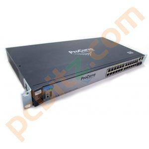 HP Procurve Switch J9086A 2610-24/12PWR 24 Port Switch (NO EARS)