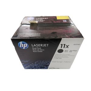 New Genuine HP Q6511XD Dual Pack Black Toner Cartridges for HP 2410-2430