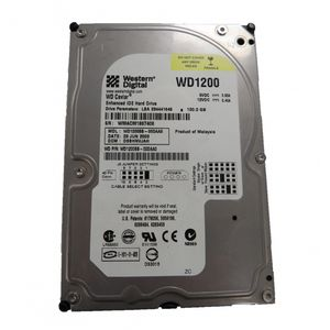 "Western Digital WD1200BB-00DAA0 120GB IDE 3.5"" Desktop Hard Drive"