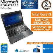 "Dell Latitude 3440, Core i5-4200U 1.6GHz, 8GB, 640GB, Windows 10 14"" Laptop (B)"