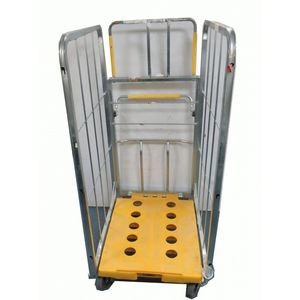 Storage Roll Cage Trolley for Warehouse/Transport