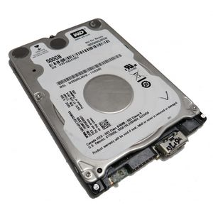 "Western Digital WD5000LMVW 500GB 2.5"" Hard Drive USB3.0"