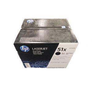 New Genuine HP Q7551XD Black Toner Cartridge P3005 M3027 M3035