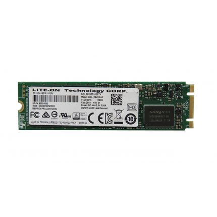 Lite-On L8H-128V2G 803216-001 128GB SATA M.2 Solid State Drive (SSD)