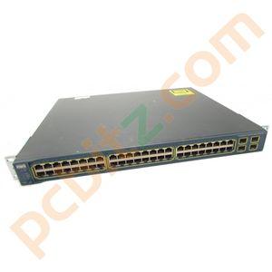 Cisco Catalyst WS-C3560G-48PS-S V04 48 Port PoE Gigabit Switch