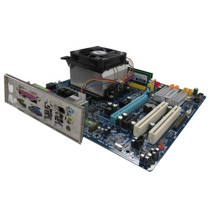 Gigabyte GA-M61PME-S2P REV 1.0 Athlon X2 5200X 4GB DDR2 Motherboard Bundle